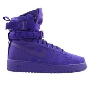 NWOB NIKE SF AF1 Purple Suede Basketball Shoes